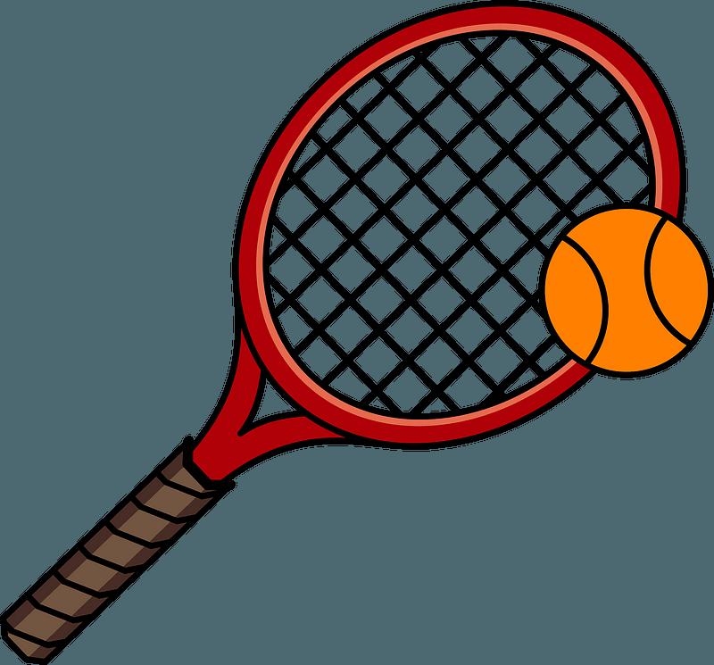 Tennis Racket And Ball Clipart Free Download Transparent Png Creazilla