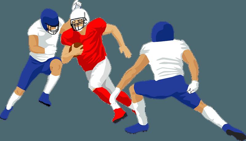 American football clipart