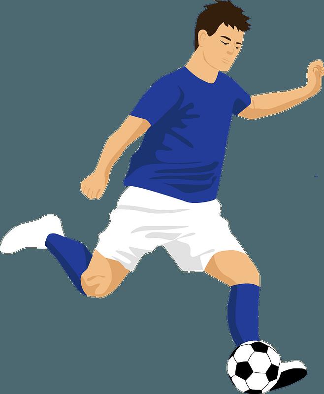 Soccer Player Clip Art