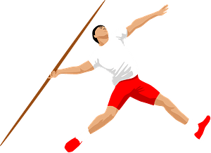 Track and field clipart