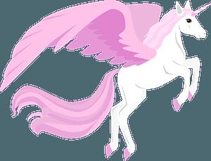 Winged Unicorn clipart
