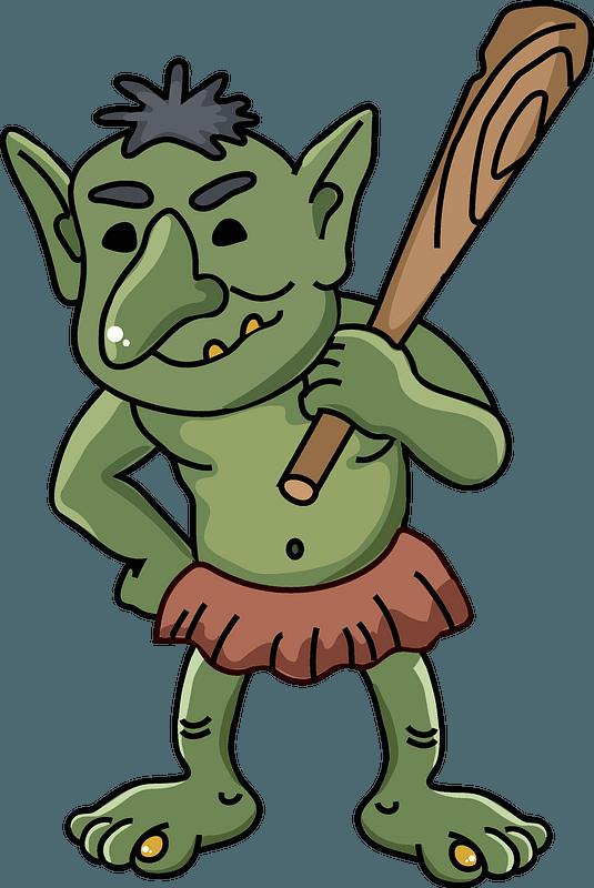 Troll clipart