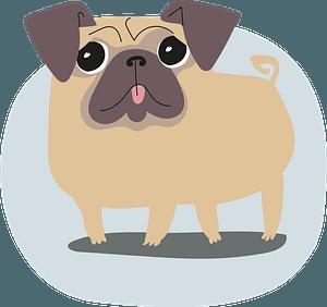 Pug кліпарт