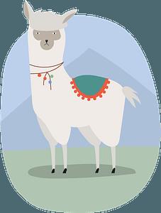Llama 클립 아트