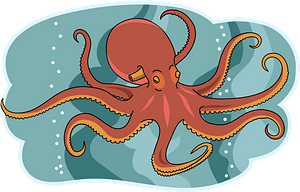 Octopus 클립 아트