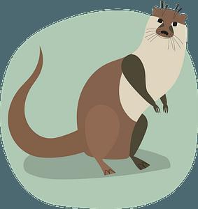 Otter 클립 아트