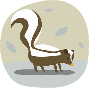Skunk 클립 아트