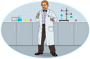 Scientist clipart