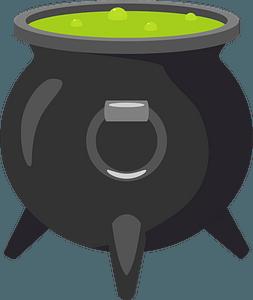 Cauldron clipart