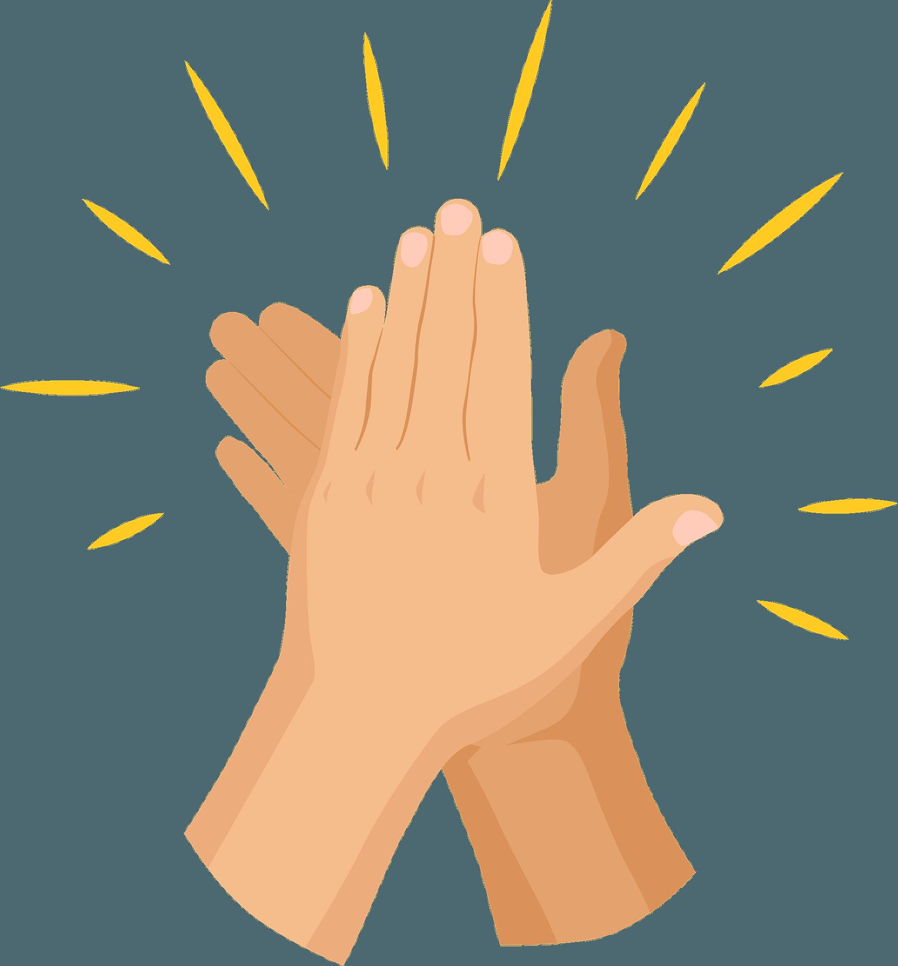clapping hands clipart. free download transparent .png | creazilla  creazilla