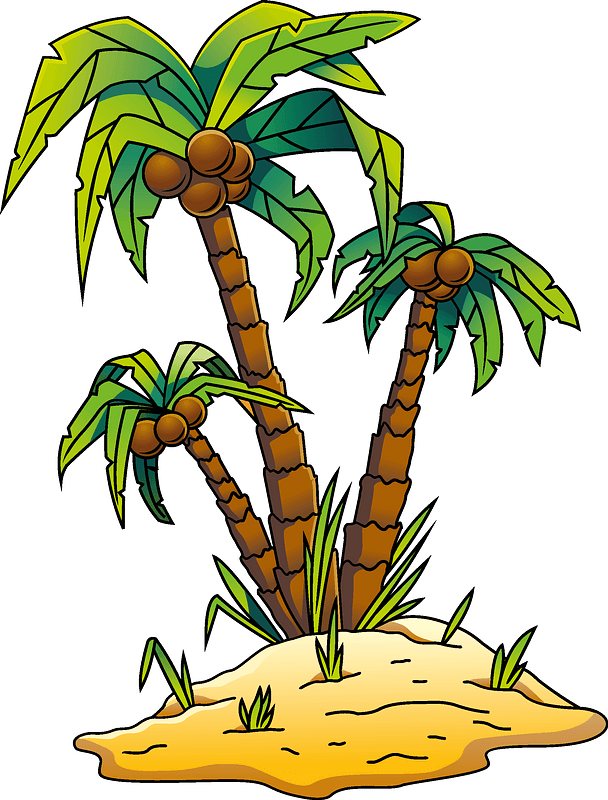 Palm tree clipart