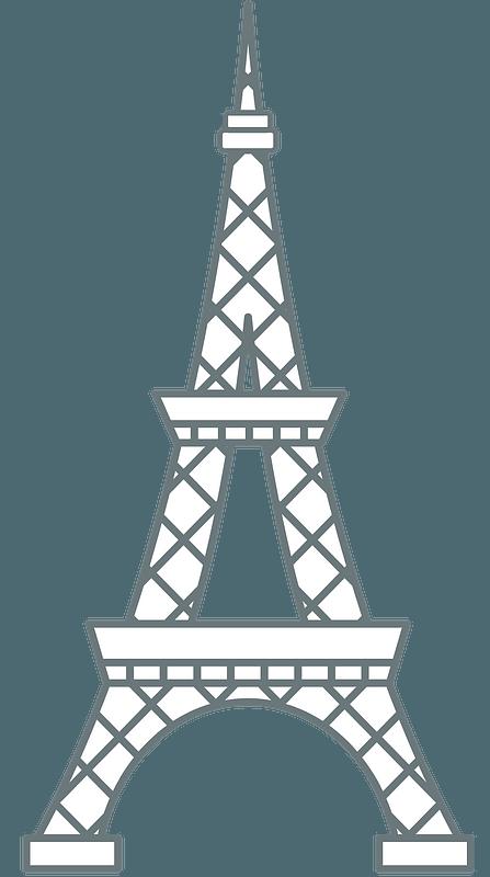 Paris Clip Art Eiffel Tower - Free vector graphic on Pixabay