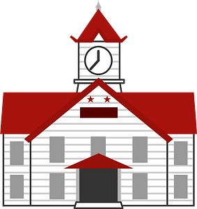 Clock Tower - in Sapporo clipart