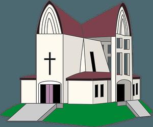 St John's Church in Hakodate clipart