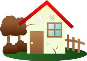 Vacant house clipart