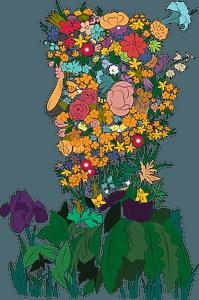 Spring after Giuseppe Arcimboldo clipart