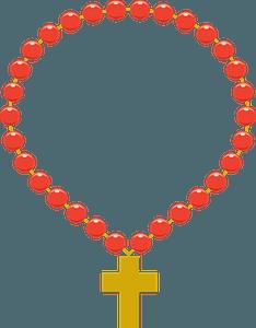 Rosary clipart