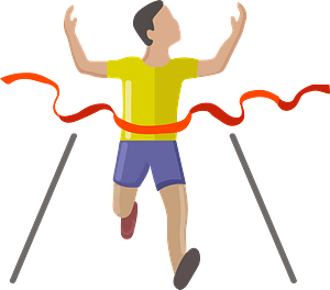 Finish line clipart