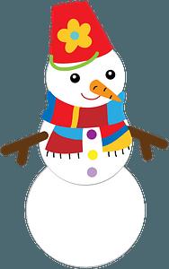 Snowman кліпарт