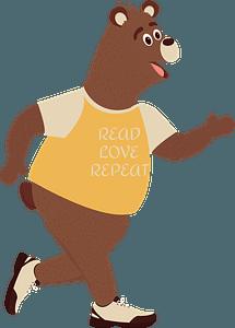 Trendy bearのクリップアート