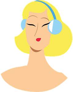 Woman head clipart