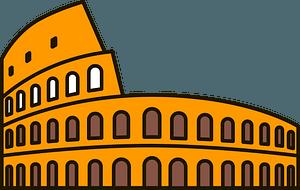 Colosseum clipart