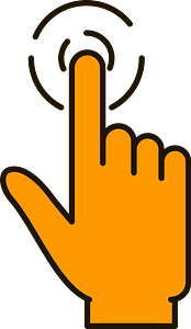 Touch clipart