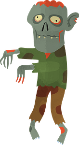 Zombie clipart