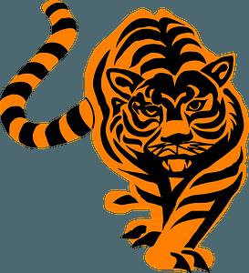 Crouching tiger 클립 아트