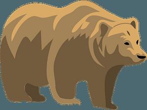 Walking bear 클립 아트