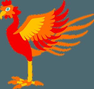 Phoenix mythology clipart