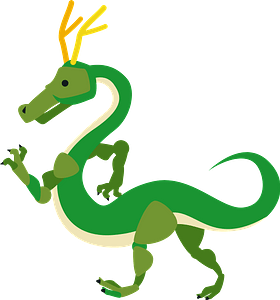 Dragon mythical creature clipart