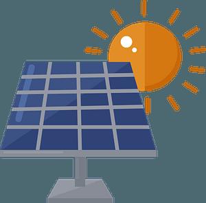 Solar panel clipart