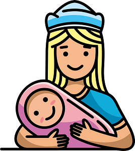 Babysitter clipart
