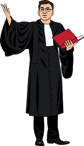 Lawyer clipart