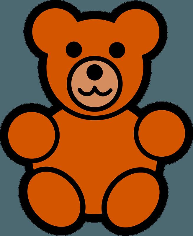 Teddy bear clipart. Free download transparent .PNG | Creazilla