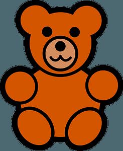 Teddy bear clipart