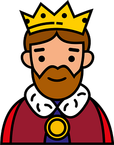 King clipart