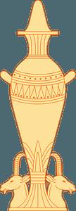 Egyptian Vase clipart