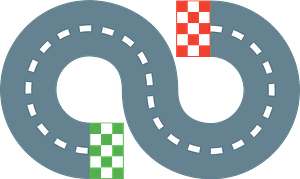 Race track immagine clipart