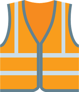 Safety vest immagine clipart