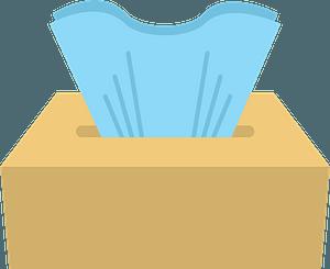 Tissue box immagine clipart