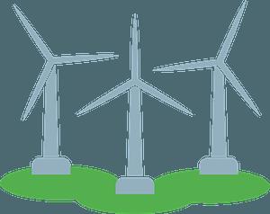 Wind turbine immagine clipart