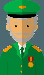 Veteran clipart
