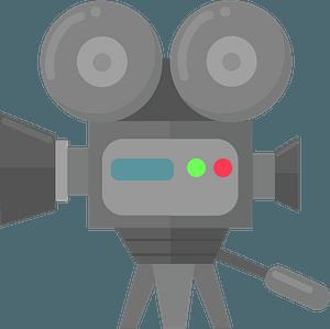 Movie camera klipart