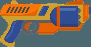 Nerf gun clipart