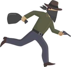 Robber clipart