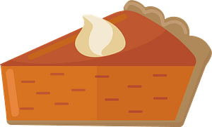 Клипарт Pumpkin pie