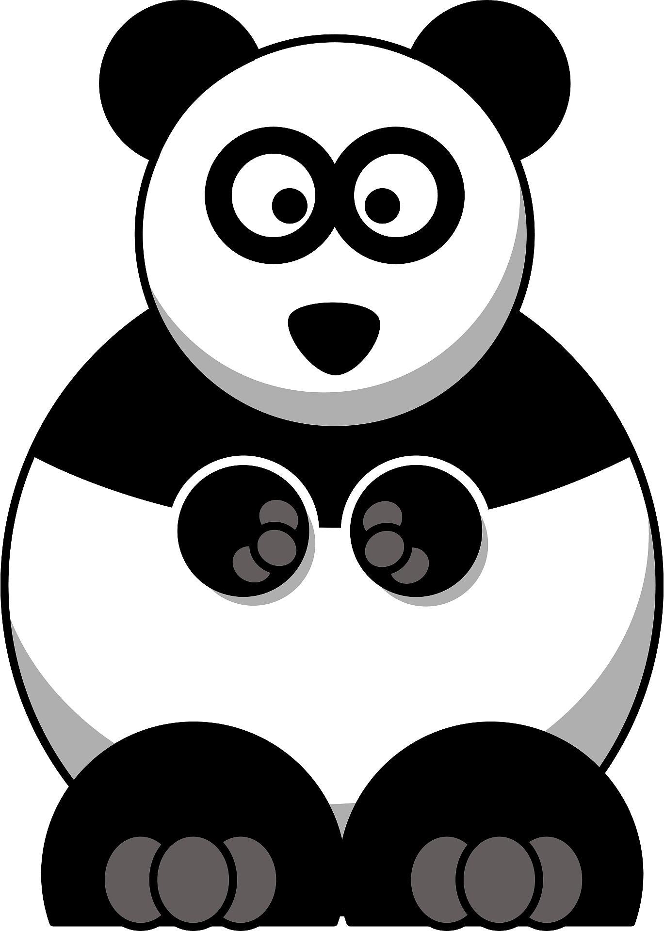 Panda PNG Clip Art Transparent Image   Gallery Yopriceville - High-Quality  Images and Transparent PNG Free Clipart