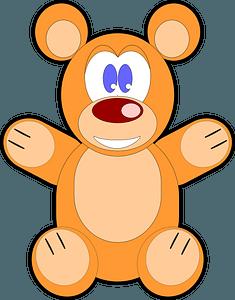 Cartoon bear clipart